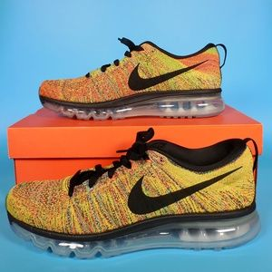 Nike Flyknit Air Max Womens 10.5 Running Shoes